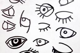 algumas obra de Frida Kahlo e de Picasso e contadas algumas histórias curiosas da vida