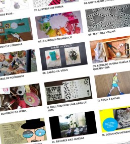 Dossier de Práticas de Educação Artística - artes visuais em tempo de pandemia