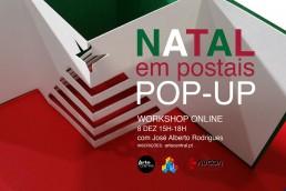NATAL EM POSTAIS POP-UP workshop online com José Alberto Rodrigues