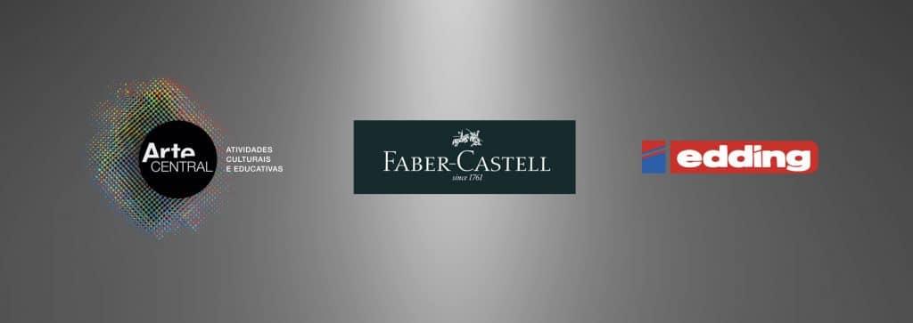 Arte Central parceira escolhida pela Faber-Castell e pela Edding