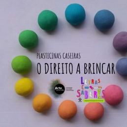 Plasticinas caseiras ©ArteCentral