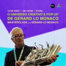 MASTERCLASS COM GÉRARD LO MONACO - Arte Central